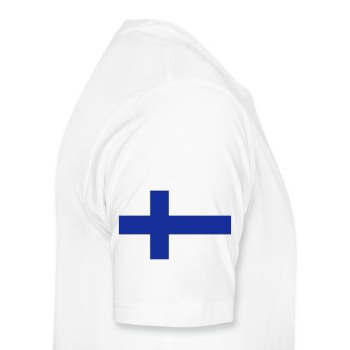 99% Suomi-painos - Miesten premium t-paita