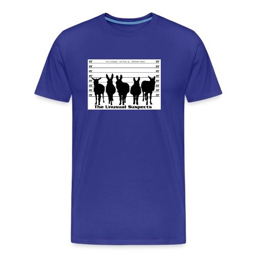 The unusual suspects - Men's Premium T-Shirt