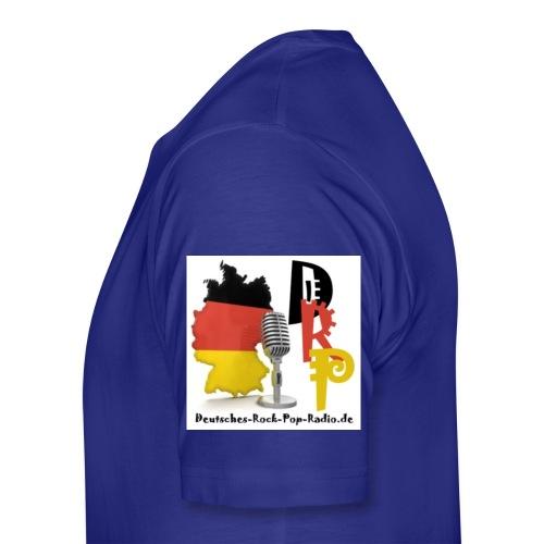Deutsches-Rock-Pop-Radio_ - Männer Premium T-Shirt