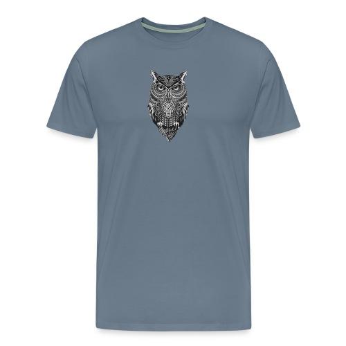 uil_groot - Mannen Premium T-shirt