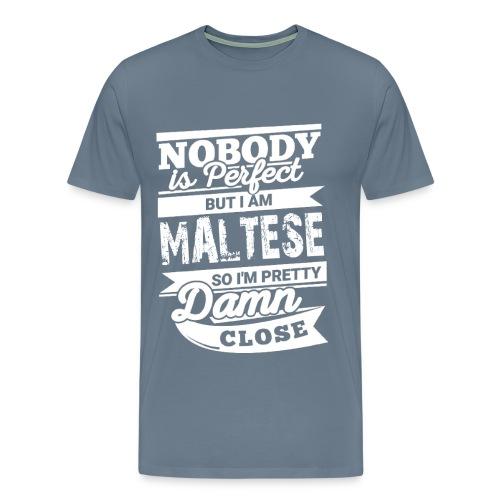 maltese - Premium-T-shirt herr
