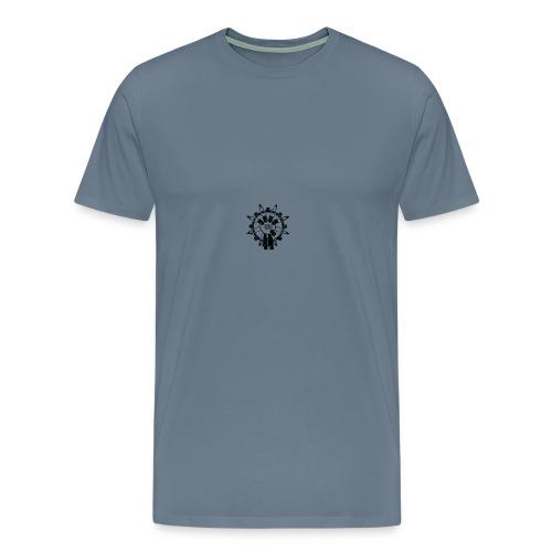 935 logo zombies - Mannen Premium T-shirt