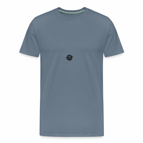 cool official crew member stamp design - Mannen Premium T-shirt