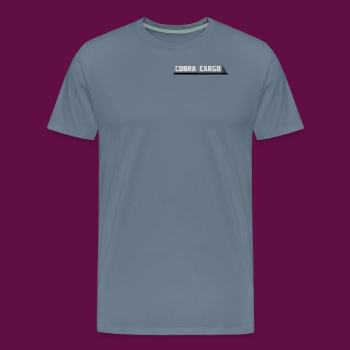 Einfaches Firmenlogo - Männer Premium T-Shirt
