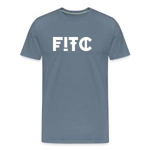 Fire In The City Logo - Men's Premium T-Shirt