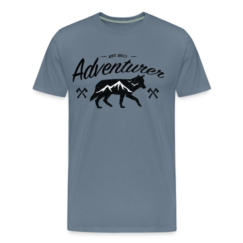 Adventurer Original - Premium T-skjorte for menn