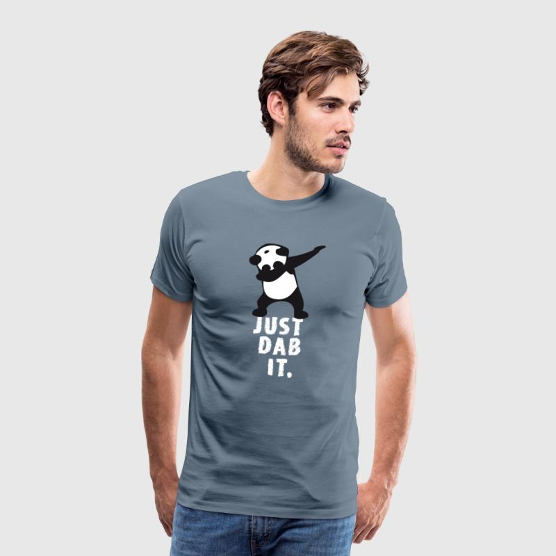 dab juste tamponner panda tamponnant touché superbowl - T-shirt Premium Homme
