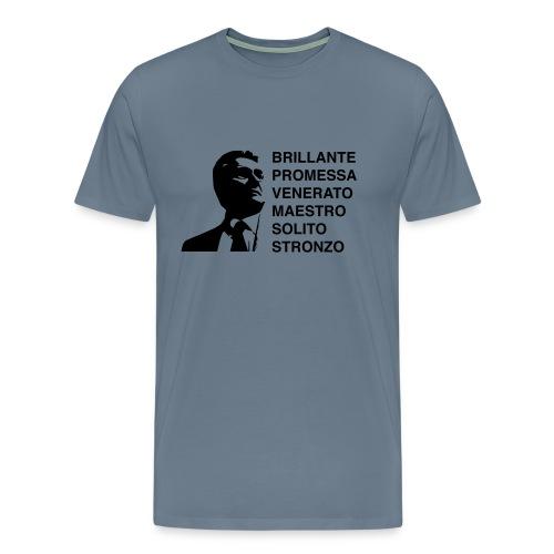 ARBASINO - Maglietta Premium da uomo