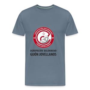 Escudo vertical básico - Camiseta premium hombre