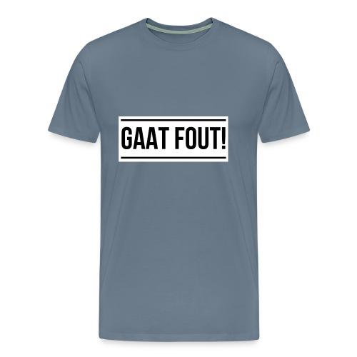 Wit shirt [KIND] - Mannen Premium T-shirt