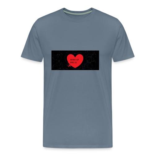make up bro 2 - Männer Premium T-Shirt