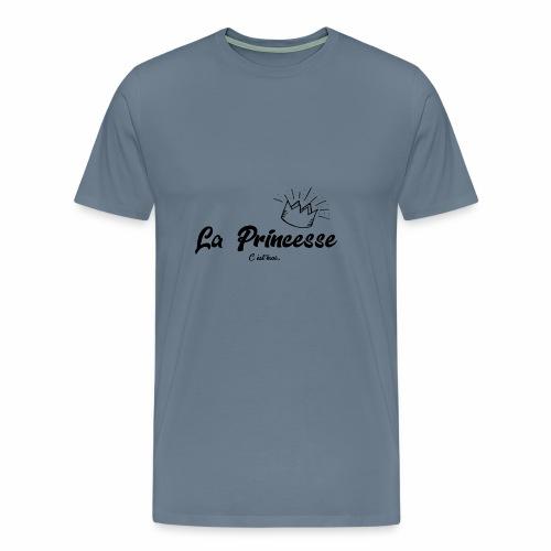 princesse couronne NOIR - T-shirt Premium Homme