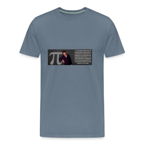 Pi-muggen. Glöm aldrig mer en decimal! - Premium-T-shirt herr