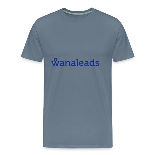 Sudadera gris deportiva Wanaleads - Camiseta premium hombre