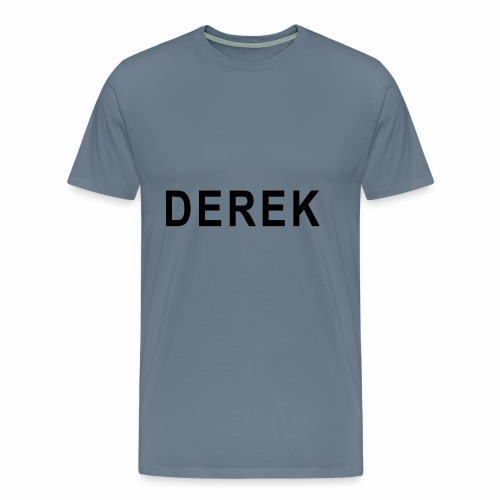 LARGE Derek - Men's Premium T-Shirt