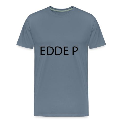 EDDE P - Premium-T-shirt herr