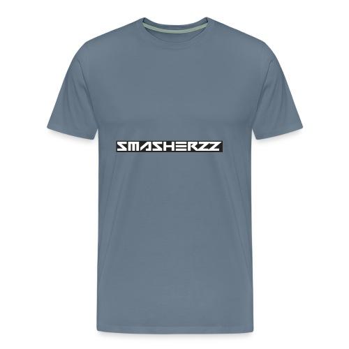 Smasherzz pet grijs/zwart - Mannen Premium T-shirt