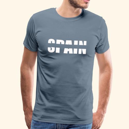 Spain España patriots blanca - Camiseta premium hombre