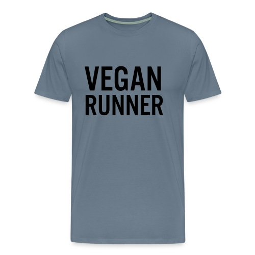 VEGAN RUNNER LADIES ORGANIC TANK TOP - Premium-T-shirt herr