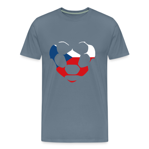 heartCZECHREPUBLIC - Men's Premium T-Shirt