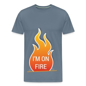 I'm on fire - Mannen Premium T-shirt