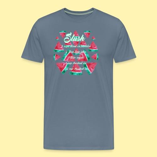 Wassermelonen Slush - Männer Premium T-Shirt