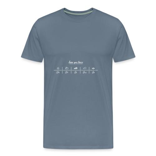 Learn you basics : sunny 16 rule - T-shirt Premium Homme