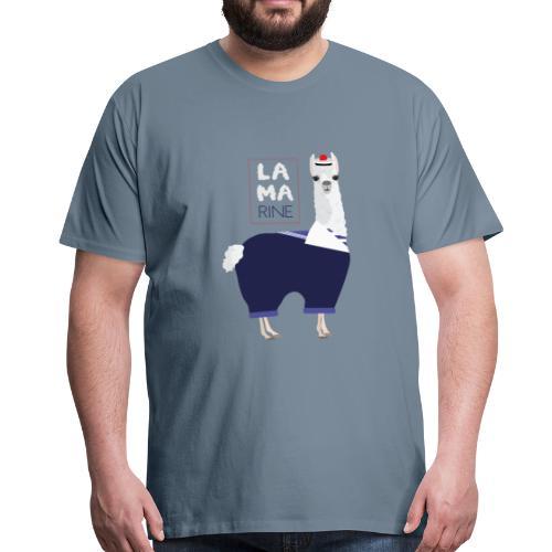 Lama rine - T-shirt Premium Homme