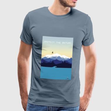 ochrony przyrody - Koszulka męska Premium