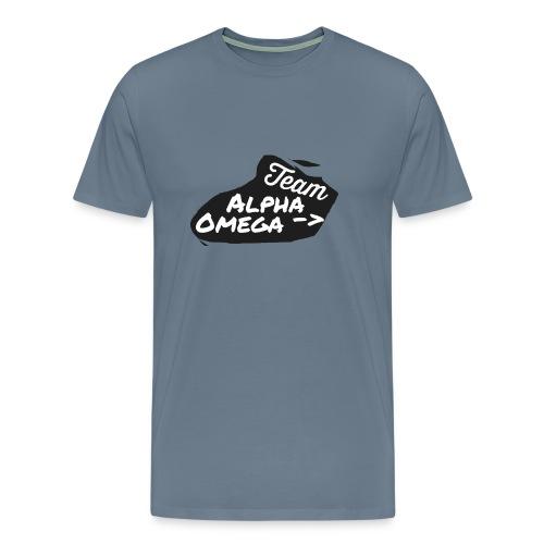 Team_Alpha Omega - Männer Premium T-Shirt