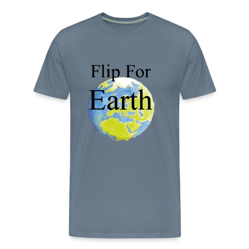 flip_for_earth - Premium-T-shirt herr