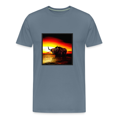 Wandering_Bull - Men's Premium T-Shirt