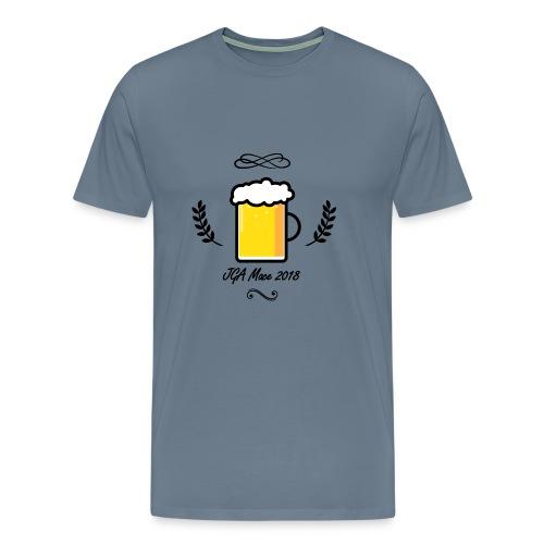 JGA Button - Männer Premium T-Shirt