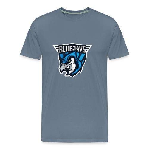 BLUEJAYS Logo - Männer Premium T-Shirt