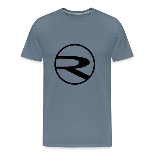 raydas60dc_schwarz-r-einzel_Kreis - Männer Premium T-Shirt