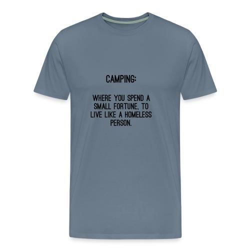Homeless Camp - Männer Premium T-Shirt
