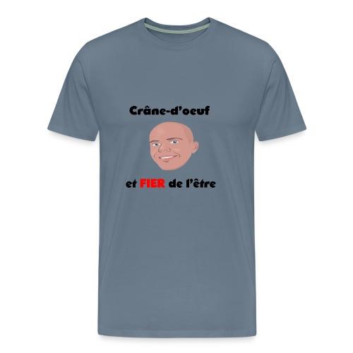 Chauve et fier - T-shirt Premium Homme