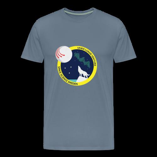 ULV - Umeå Lunar Venture - Premium-T-shirt herr