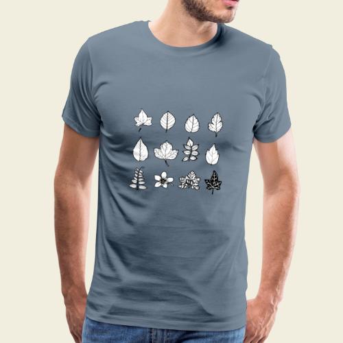 Leaves / Blätter - Männer Premium T-Shirt