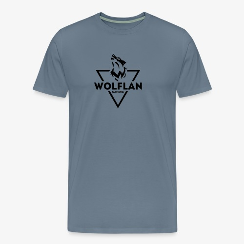 WolfLAN Gaming Logo Black - Men's Premium T-Shirt