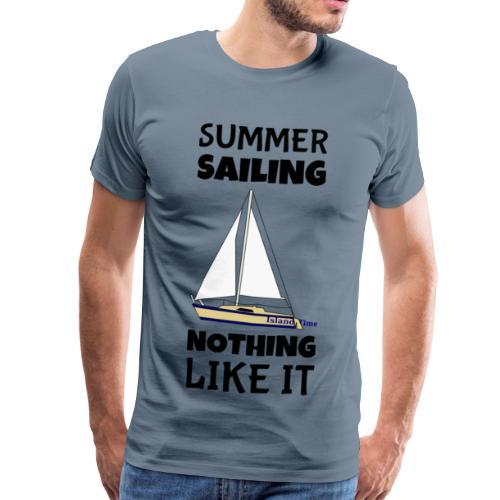 Summer Sailing - Men's Premium T-Shirt