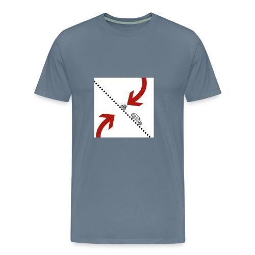 Arrow - Mannen Premium T-shirt