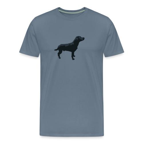 Labrador stehend - Männer Premium T-Shirt