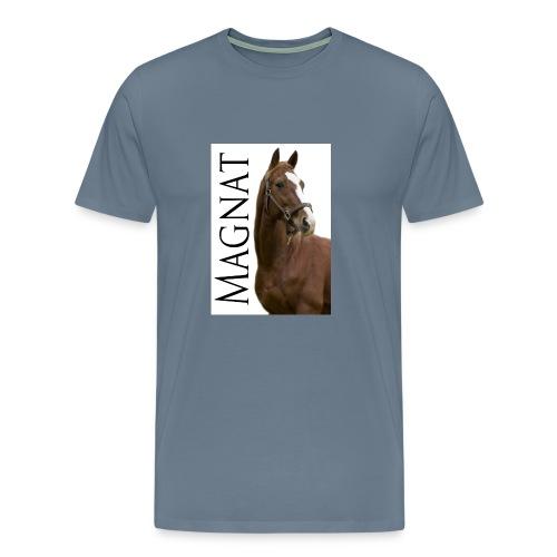 Magnat fanipaita miesten valkoinen - Miesten premium t-paita