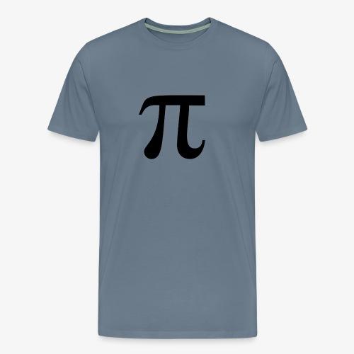 pi - Premium T-skjorte for menn