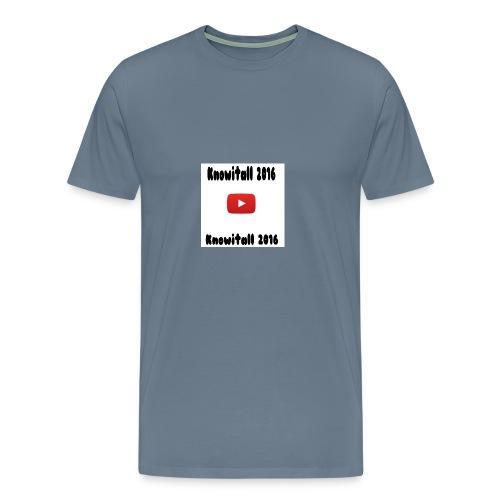 Knowitall 2016 Custom design - Men's Premium T-Shirt