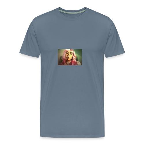 cómic face - Camiseta premium hombre