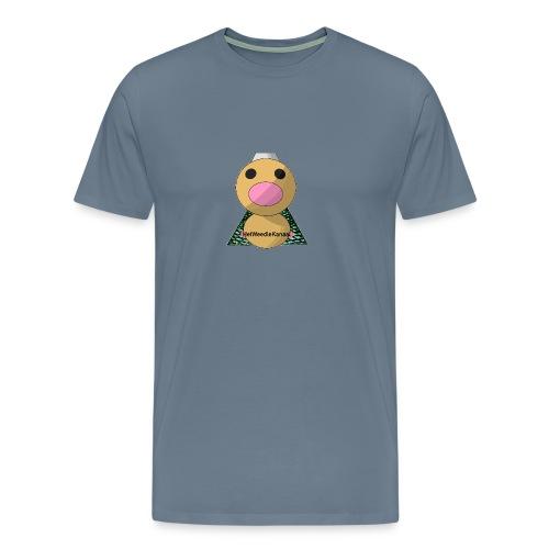 HetWeedleKanaal shirt MAAT S/M/L/XL/XXL - Mannen Premium T-shirt