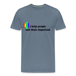Emergency Gay Services - Mannen Premium T-shirt