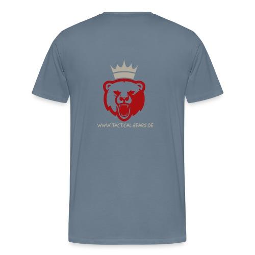 TB ROT/GRAU - Männer Premium T-Shirt